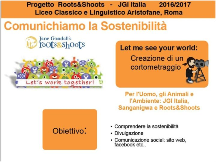 Jane Goodall incontra gli studenti del liceo Aristofane di Roma