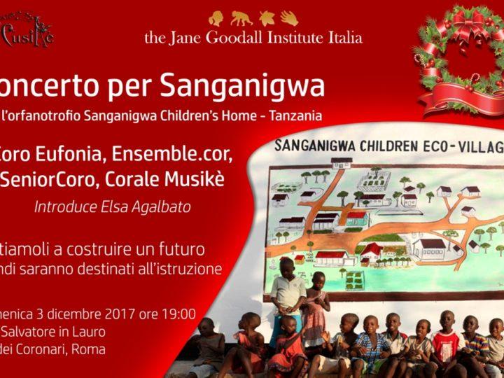 Sosteniamo Sanganigwa il 3 Dicembre con il Concerto di Natale