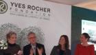 Daniela De Donno con Jacques Rocher e Tessa Gelisio