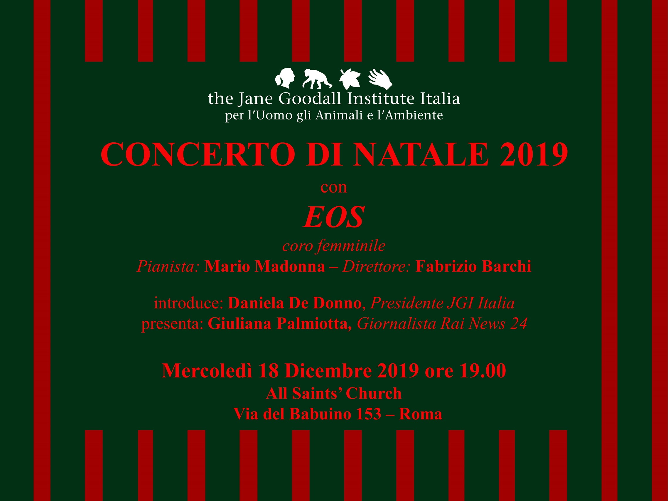 [:it]Concerto di Natale per Sanganigwa[:] @ All Saints' Church
