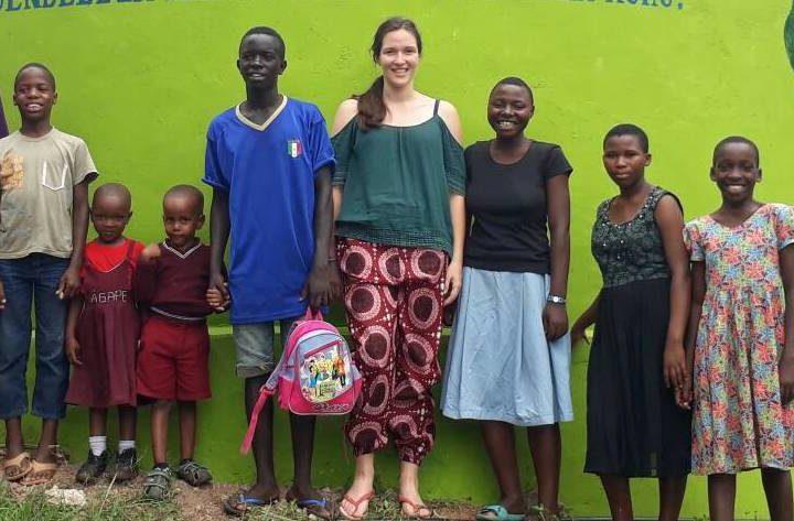 Buona avventura, Jasmine, volontaria belga a Sanganigwa