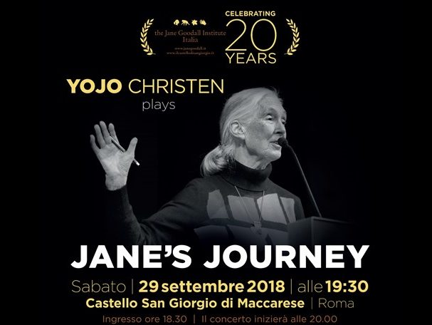 Il JGI Italia festeggia a Roma i suoi 20 anni con il pianista Yojo Christen