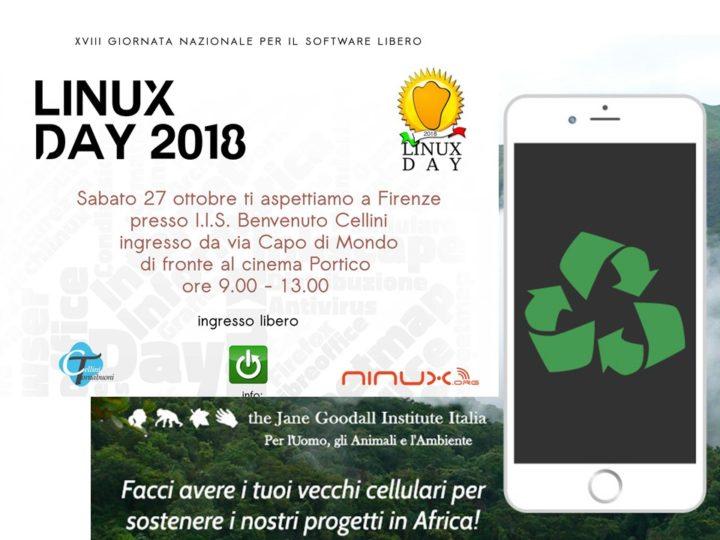 Sabato 27 ottobre: la Campagna Cellulari è al Linux Day di Firenze