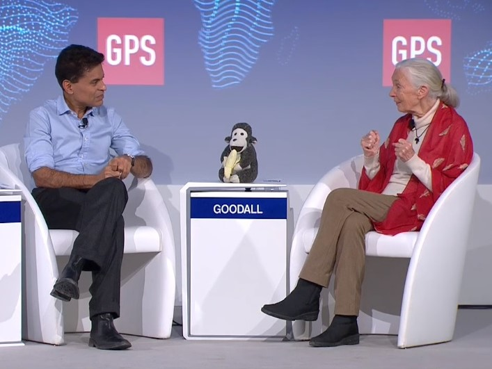Jane Goodall al World Economic Forum 2019 di Davos: lei, la sua visione, la sua missione