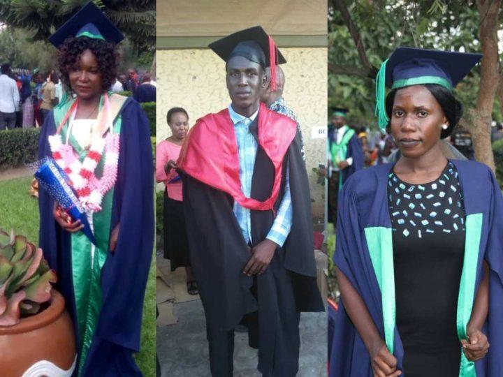 Giovani adulti di Sanganigwa: laurea conquistata per Hamis, Nao e Evelina