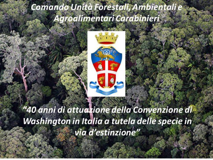 Il Convegno per i 40 anni in Italia della CITES: interviene Daniela De Donno