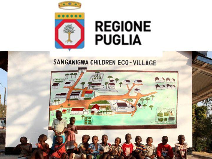 La Regione Puglia finanzia la riqualificazione delle strutture di Sanganigwa