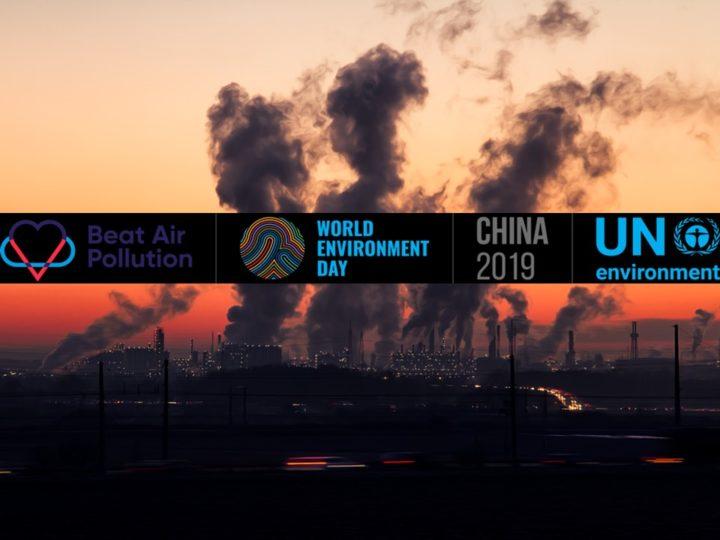 Giornata Mondiale dell'Ambiente 2019: batti l'inquinamento atmosferico