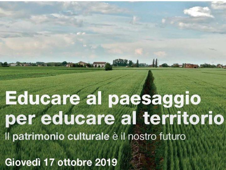 La Campagna Riciclo Cellulari e il JGI Italia alla VII Settimana del Pianeta Terra: Educare al paesaggio per educare al territorio