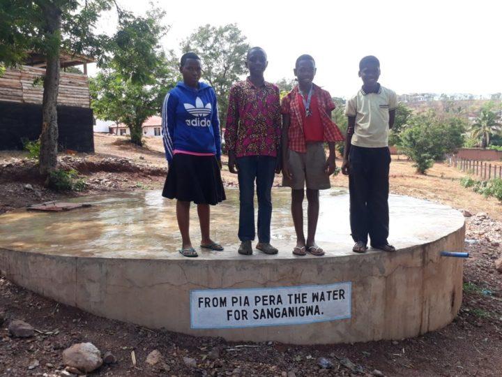 Acqua a Sanganigwa: con la nuova cisterna sotterranea il sistema di raccolta acqua è completo