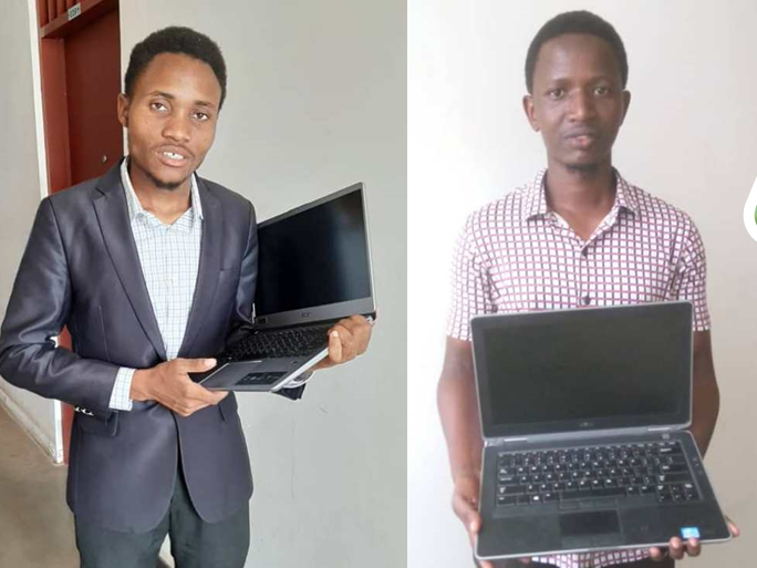 Proventi della Campagna Cellulari? Computer per gli studenti universitari di Sanganigwa