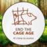 End the Age Cage: no alle gabbie negli allevamenti intensivi