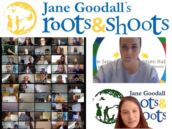 I giovani di Roots&Shoots non si fermano: European Virtual Roots & Shoots Meeting 2020