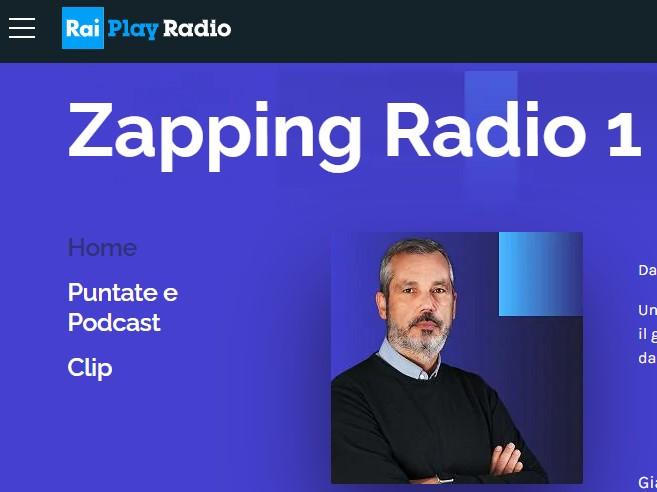 Zapping RAI Radio 1 intervista Daniela De Donno