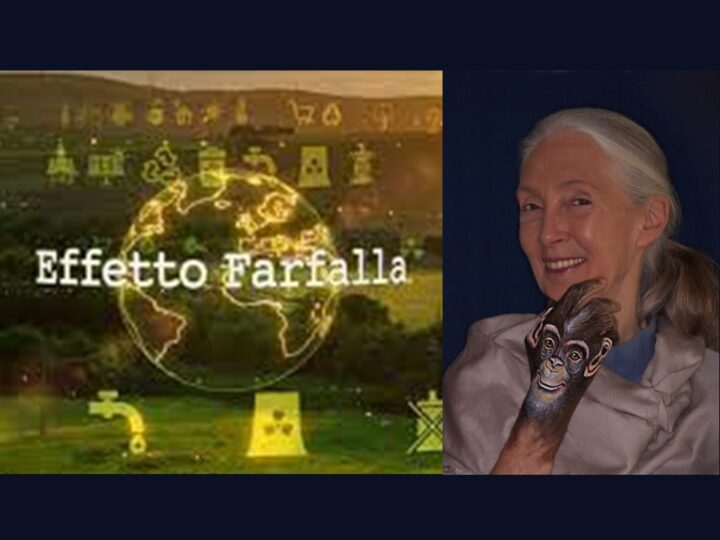 Jane Goodall a Effetto Farfalla – Rai News 24