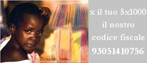 Per il tuo 5x1000 il nostro codice fiscale: 93051410756