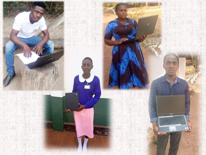 Raccolta cellulari? Ancora 4 Computer per i giovani universitari di Sanganigwa